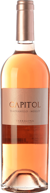 3,95 € Envoi gratuit | Vin rose Padró Capitol Joven D.O. Tarragona Catalogne Espagne Tempranillo, Merlot Bouteille 75 cl