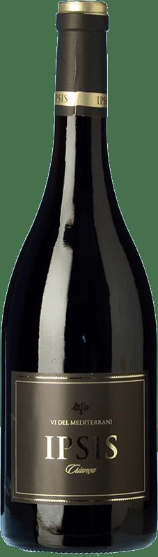 14,95 € Free Shipping | Red wine Padró Ipsis Crianza D.O. Tarragona Catalonia Spain Tempranillo, Merlot Bottle 75 cl