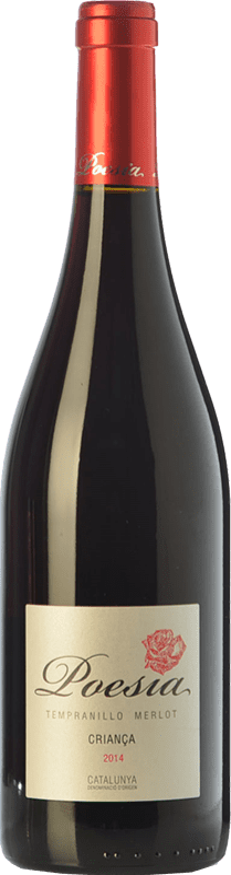 4,95 € Envoi gratuit | Vin rouge Padró Poesía Crianza D.O. Catalunya Catalogne Espagne Tempranillo, Merlot Bouteille 75 cl