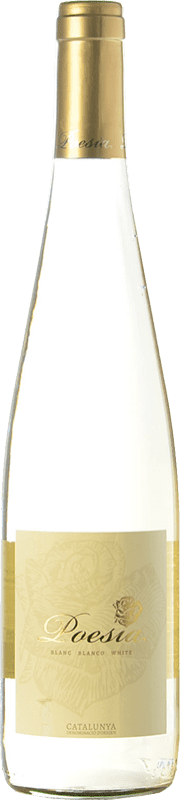 3,95 € Free Shipping | White wine Padró Poesía Joven D.O. Catalunya Catalonia Spain Muscatel, Macabeo, Xarel·lo Bottle 75 cl