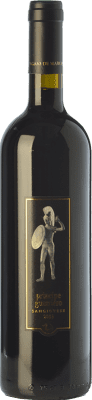 25,95 € Free Shipping | Red wine Pagani de Marchi Principe Guerriero I.G.T. Toscana Tuscany Italy Sangiovese Bottle 75 cl