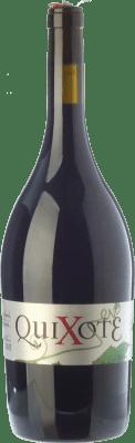 37,95 € Free Shipping | Red wine Casa del Blanco Quixote Crianza 2008 D.O.P. Vino de Pago Casa del Blanco Castilla la Mancha Spain Cabernet Franc, Malbec Magnum Bottle 1,5 L