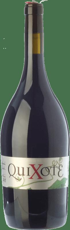 10,95 € Free Shipping | Red wine Casa del Blanco Quixote Crianza D.O.P. Vino de Pago Casa del Blanco Castilla la Mancha Spain Cabernet Franc, Malbec Magnum Bottle 1,5 L