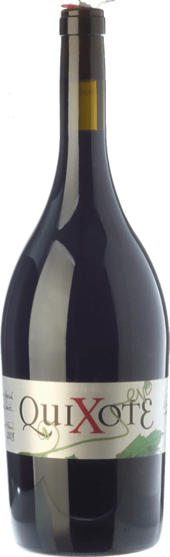 9,95 € Kostenloser Versand | Rotwein Casa del Blanco Quixote Crianza D.O.P. Vino de Pago Casa del Blanco Kastilien-La Mancha Spanien Cabernet Franc, Malbec Magnum-Flasche 1,5 L