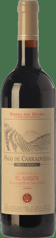 77,95 € 送料無料 | 赤ワイン Pago de Carraovejas El Anejón Crianza 2010 D.O. Ribera del Duero カスティーリャ・イ・レオン スペイン Tempranillo, Merlot, Cabernet Sauvignon ボトル 75 cl