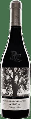 45,95 € Kostenloser Versand | Rotwein Pago de los Capellanes El Nogal Reserva D.O. Ribera del Duero Kastilien und León Spanien Tempranillo Flasche 75 cl