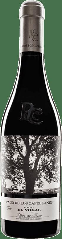 45,95 € Free Shipping | Red wine Pago de los Capellanes El Nogal Reserva D.O. Ribera del Duero Castilla y León Spain Tempranillo Bottle 75 cl