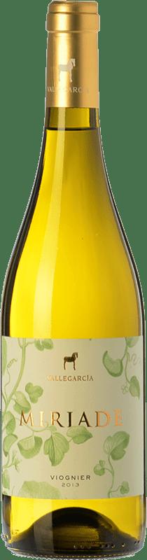 12,95 € Free Shipping | White wine Pago de Vallegarcía Miriade sobre Lías I.G.P. Vino de la Tierra de Castilla Castilla la Mancha Spain Viognier Bottle 75 cl