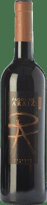 6,95 € Envío gratis | Vino tinto Pagos de Aráiz Crianza D.O. Navarra Navarra España Tempranillo, Merlot, Syrah, Cabernet Sauvignon Botella 75 cl