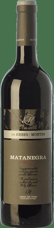 19,95 € Free Shipping | Red wine Pagos de Matanegra Crianza D.O. Ribera del Duero Castilla y León Spain Tempranillo Bottle 75 cl