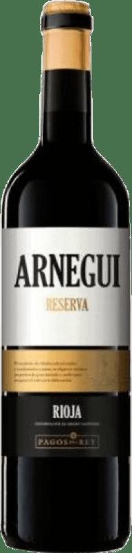 11,95 € Envoi gratuit   Vin rouge Pagos del Rey Arnegui Reserva D.O.Ca. Rioja La Rioja Espagne Tempranillo Bouteille 75 cl