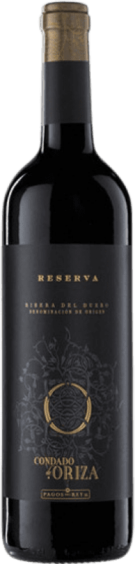 14,95 € Envoi gratuit   Vin rouge Pagos del Rey Condado de Oriza Reserva D.O. Ribera del Duero Castille et Leon Espagne Tempranillo Bouteille 75 cl