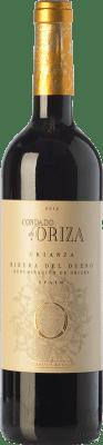 8,95 € Kostenloser Versand | Rotwein Pagos del Rey Condado de Oriza Crianza D.O. Ribera del Duero Kastilien und León Spanien Tempranillo Flasche 75 cl