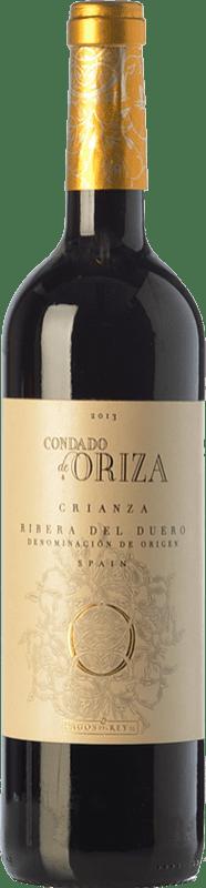 10,95 € Free Shipping | Red wine Pagos del Rey Condado de Oriza Crianza D.O. Ribera del Duero Castilla y León Spain Tempranillo Bottle 75 cl