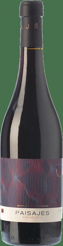 19,95 € Envío gratis | Vino tinto Paisajes Cecias Crianza D.O.Ca. Rioja La Rioja España Garnacha Botella 75 cl