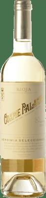 9,95 € Kostenloser Versand | Weißwein Palacio Cosme Crianza D.O.Ca. Rioja La Rioja Spanien Viura Flasche 75 cl