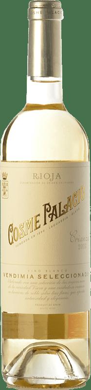 13,95 € Free Shipping | White wine Palacio Cosme Crianza D.O.Ca. Rioja The Rioja Spain Viura Bottle 75 cl