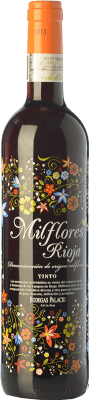 6,95 € Envoi gratuit | Vin rouge Palacio Milflores Joven D.O.Ca. Rioja La Rioja Espagne Tempranillo Bouteille 75 cl