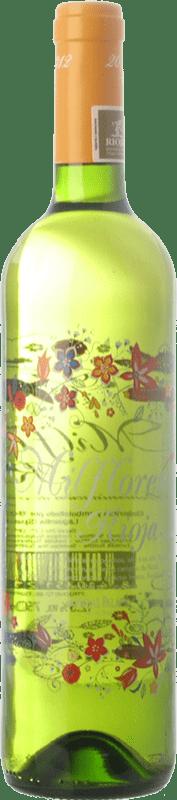 8,95 € Free Shipping | White wine Palacio Milflores D.O.Ca. Rioja The Rioja Spain Viura Bottle 75 cl