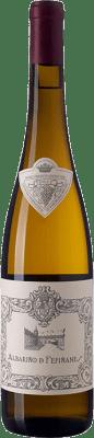 13,95 € Envío gratis | Vino blanco Palacio de Fefiñanes D.O. Rías Baixas Galicia España Albariño Botella 75 cl