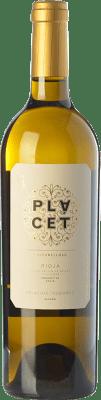 41,95 € Envío gratis | Vino blanco Palacios Remondo Plácet Valtomelloso Crianza D.O.Ca. Rioja La Rioja España Viura Botella Mágnum 1,5 L
