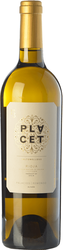 48,95 € Envoi gratuit | Vin blanc Palacios Remondo Plácet Valtomelloso Crianza D.O.Ca. Rioja La Rioja Espagne Viura Bouteille Magnum 1,5 L