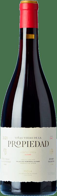 28,95 € Spedizione Gratuita | Vino rosso Palacios Remondo Propiedad Crianza D.O.Ca. Rioja La Rioja Spagna Grenache Bottiglia 75 cl