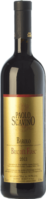 115,95 € Free Shipping | Red wine Paolo Scavino Bric del Fiasc D.O.C.G. Barolo Piemonte Italy Nebbiolo Bottle 75 cl