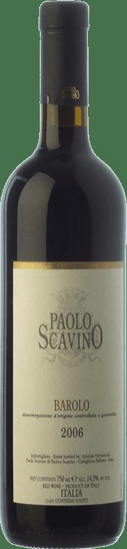 42,95 € Free Shipping | Red wine Paolo Scavino Crianza D.O.C.G. Barolo Piemonte Italy Nebbiolo Bottle 75 cl