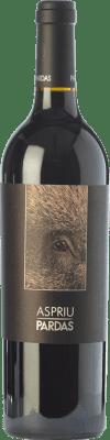 28,95 € Free Shipping | Red wine Pardas Aspriu Crianza D.O. Penedès Catalonia Spain Cabernet Sauvignon, Cabernet Franc Bottle 75 cl