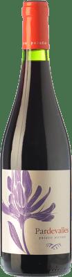 8,95 € Free Shipping | Red wine Pardevalles Joven D.O. Tierra de León Castilla y León Spain Prieto Picudo Bottle 75 cl