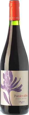 8,95 € Envío gratis | Vino tinto Pardevalles Joven D.O. León Castilla y León España Prieto Picudo Botella 75 cl