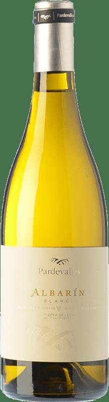 7,95 € Envío gratis | Vino blanco Pardevalles D.O. León Castilla y León España Albarín Botella 75 cl