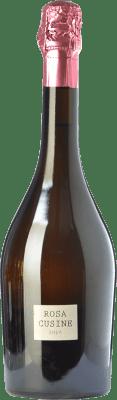 27,95 € Kostenloser Versand | Rosé Sekt Parés Baltà Rosa Cusiné Reserva D.O. Cava Katalonien Spanien Grenache Flasche 75 cl