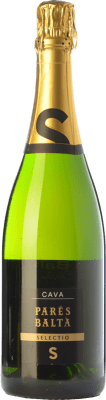 13,95 € Kostenloser Versand | Weißer Sekt Parés Baltà Selectio Brut Reserva D.O. Cava Katalonien Spanien Macabeo, Xarel·lo, Chardonnay, Parellada Flasche 75 cl