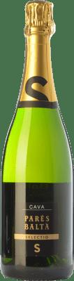 15,95 € Free Shipping | White sparkling Parés Baltà Selectio Brut Reserva D.O. Cava Catalonia Spain Macabeo, Xarel·lo, Chardonnay, Parellada Bottle 75 cl