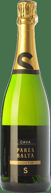 13,95 € Free Shipping | White sparkling Parés Baltà Selectio Brut Reserva D.O. Cava Catalonia Spain Macabeo, Xarel·lo, Chardonnay, Parellada Bottle 75 cl