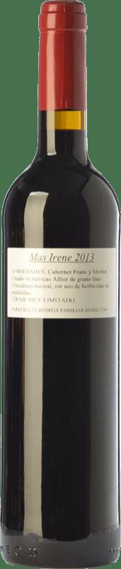 19,95 € Free Shipping | Red wine Parés Baltà Mas Irene Crianza D.O. Penedès Catalonia Spain Merlot, Cabernet Franc Bottle 75 cl