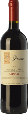17,95 € Free Shipping | Red wine Parusso Ornati D.O.C. Barbera d'Alba Piemonte Italy Barbera Bottle 75 cl