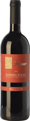 38,95 € Free Shipping | Red wine Parusso Superiore D.O.C. Barbera d'Alba Piemonte Italy Barbera Bottle 75 cl