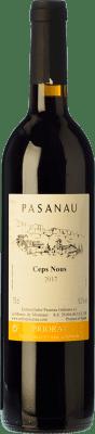 16,95 € Free Shipping | Red wine Pasanau Ceps Nous Joven D.O.Ca. Priorat Catalonia Spain Merlot, Syrah, Grenache, Cabernet Sauvignon, Carignan Bottle 75 cl