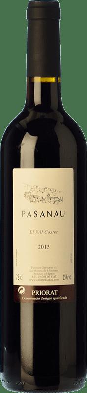 41,95 € Free Shipping | Red wine Pasanau El Vell Coster Reserva D.O.Ca. Priorat Catalonia Spain Grenache, Cabernet Sauvignon, Carignan Bottle 75 cl
