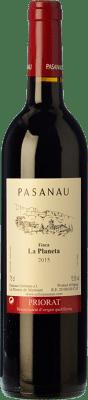 29,95 € Free Shipping | Red wine Pasanau Finca La Planeta Crianza D.O.Ca. Priorat Catalonia Spain Grenache, Cabernet Sauvignon Bottle 75 cl