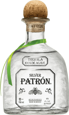 61,95 € Free Shipping | Tequila Patrón Silver Mexico Bottle 70 cl