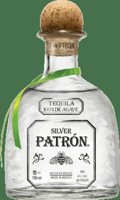 61,95 € Envoi gratuit | Tequila Patrón Silver Mexique Bouteille 70 cl