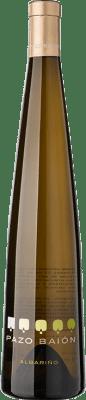 12,95 € Envoi gratuit | Vin blanc Pazo Baión D.O. Rías Baixas Galice Espagne Albariño Bouteille 75 cl