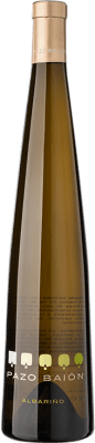 15,95 € Free Shipping | White wine Pazo Baión D.O. Rías Baixas Galicia Spain Albariño Bottle 75 cl | Thousands of wine lovers trust us to get the best price guarantee, free shipping always and hassle-free shopping and returns.