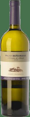 29,95 € Envío gratis | Vino blanco Pazo de Señoráns Selección de Añada D.O. Rías Baixas Galicia España Albariño Botella 75 cl