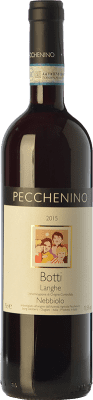 16,95 € Free Shipping | Red wine Pecchenino Botti D.O.C. Langhe Piemonte Italy Nebbiolo Bottle 75 cl