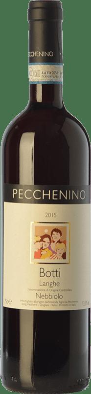 17,95 € Free Shipping | Red wine Pecchenino Botti D.O.C. Langhe Piemonte Italy Nebbiolo Bottle 75 cl
